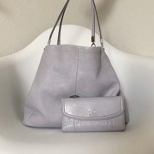 Cᴏᴀᴄʜ | Edie shoulder bag & wallet